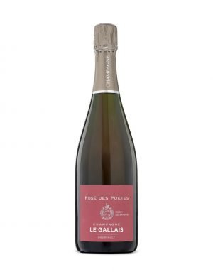 Buy online Independent champagne grower Le Gallais Rose de Poetes