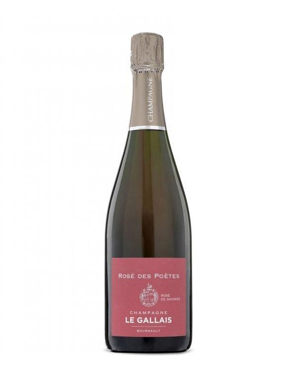 Buy online Independent champagne grower Le Gallais Rose de Poetes