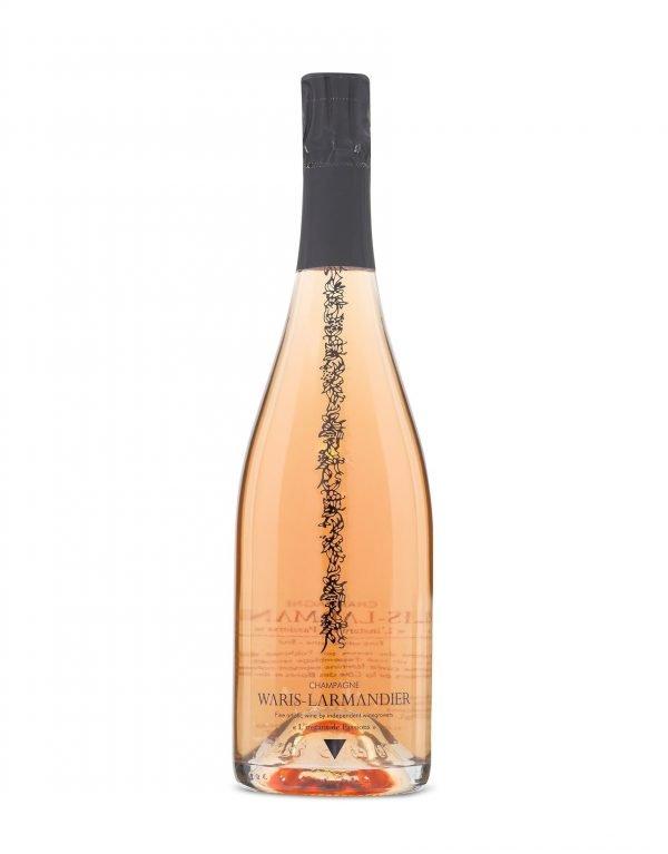 Buy online Independent champagne grower Waris Larmandier Instant de Passions Rose Brut